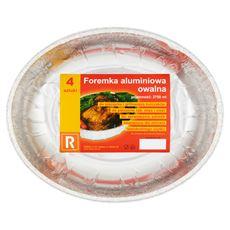 Rober Foremka aluminiowa owalna 2750 ml