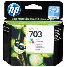HP oryginalny tusz kolorowy 703 (CD888AE)