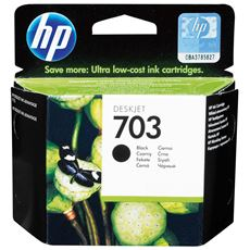 HP oryginalny tusz czarny 703 (CD887AE)