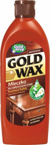 Golddrop Gold Wax Mleczko do czyszczenia i konserawcji mebli 250 ml