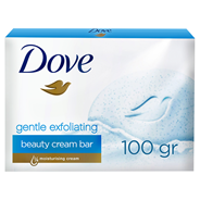 Dove Gentle Exfoliating Kremowa kostka myjąca 100 g