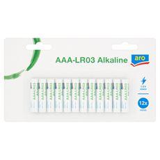 Aro Alkaline High Performance AAA-LR03 Bateria alkaliczna 12 sztuk