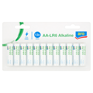 Aro Alkaline High Performance AA-LR6 Bateria alkaliczna 12 sztuk