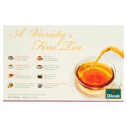 Dilmah A Variety of Fine Tea Zestaw czarnych herbat 145 g (80 torebek)