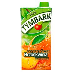 Tymbark Pomarańcza brzoskwinia Napój 1 l 6 sztuk