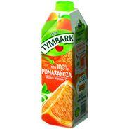 Tymbark Pomarańcza Sok 100% 1 l 6 sztuk karton
