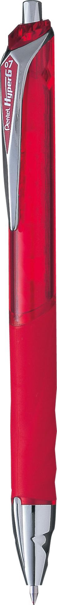 Pentel Dokument Pen KL257-B Długopis żelowy czerwony