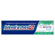 Blend-A-Med 3D White Fresh Extreme Mint Kiss Wybielająca pasta do zębów 100 ml