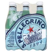 S.Pellegrino Naturalna woda mineralna gazowana 6 x 500 ml