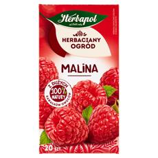 Herbapol Herbaciany Ogród Malina Herbatka owocowo-ziołowa 54 g (20 saszetek)