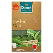 Dilmah Ceylon Gold Herbata czarna klasyczna 100 g (50 torebek)