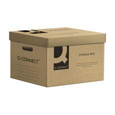 Q-Connect Pudełko archiwizacyjne szare 515x350x305 mm