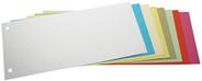 Przekładki kartonowe niebieskie 1/3 A4 100 sztuk