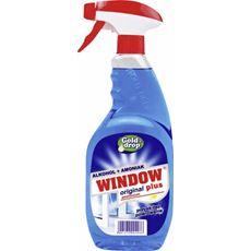 Window Plus Płyn do mycia szyb z amoniakiem w rozpylaczu 750 ml 4 sztuki