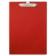 Panta Plast Deska z klipsem czerwona A4