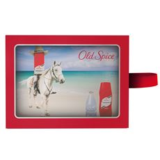 Old Spice Zestaw w kosmetyczce: spray 150 ml, żel 250 ml i woda po goleniu 100 ml