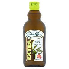 Costa d'Oro Extra Oliwa z oliwek najwyższej jakości z pierwszego tłoczenia 500 ml