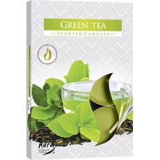 Tealights o zapachu Zielona herbata 6 sztuk