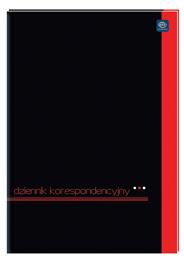 Interdruk Dziennik korespondencyjny A4