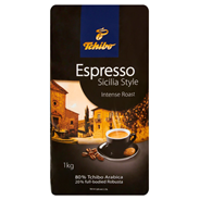 Tchibo Espresso Sicilia Style Intense Roast Kawa palona ziarnista 1 kg