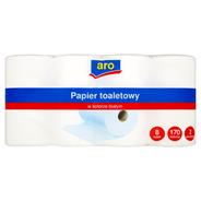 Aro Papier toaletowy w kolorze białym 8 rolek
