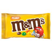 M&M's Peanut Orzeszki ziemne oblane czekoladą w kolorowych skorupkach 45 g 24 sztuki