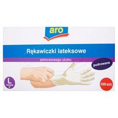 Aro Rękawiczki lateksowe L 100 sztuk