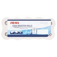 Sigma Rolki kasowe termiczne 25 mm x 28 mm 10 sztuk