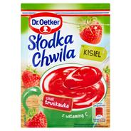 Dr. Oetker Słodka Chwila Kisiel smak truskawkowy 30 g