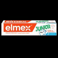 Elmex Junior z aminofluorkiem Pasta do zębów dla dzieci 6-12 lat 75 ml