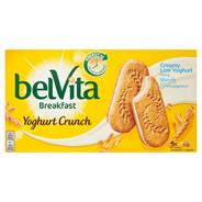 belVita Breakfast Yoghurt Crunch Ciastka zbożowe 253 g (5 x 2 sztuki)