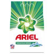 Ariel Mountain Spring Proszek do prania 3750g, 50prań