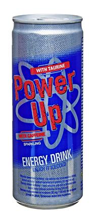 Power Up Gazowany napój energetyzujący 250 ml