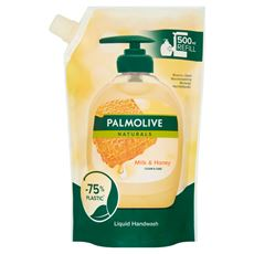 Palmolive Naturals Milk & Honey Mydło w płynie do rąk zapas 500 ml