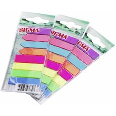 Sigma Zakładki indeksujące mix 8 kolorów
