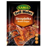 Kamis Grill Mates Brown Sugar Skrzydełka Przyprawa do potraw z grilla 20 g