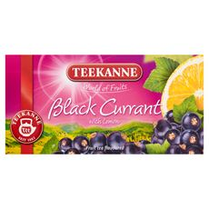 Teekanne World of Fruits Black Currant with Lemon Mieszanka herbatek owocowych 50 g (20 torebek)