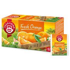 Teekanne World of Fruits Fresh Orange Aromatyzowana mieszanka herbatek owocowych 45 g (20 torebek)