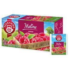 Teekanne World of Fruits Raspberry Mieszanka herbatek owocowych 50 g (20 torebek)