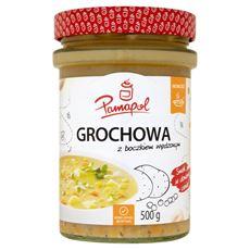 Pamapol Grochowa z boczkiem wędzonym 500 g