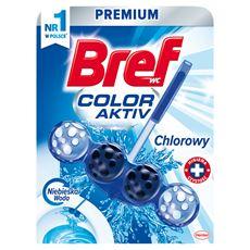 Bref WC Blue Aktiv Chlorowy Zawieszka do muszli WC 50 g