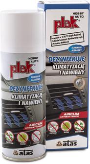 Plak Preparat dezynfekujący klimatyzację i nawiewy 200 ml