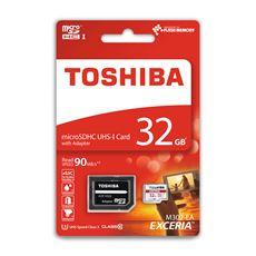 Toshiba karta MicroSD 32GB+AD CL10