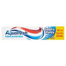 Aquafresh 3 Triple Protection Fresh and Minty Pasta do zębów 125 ml