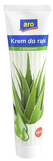 ARO Aloe Vera Krem do rąk z aloesem 125 ml