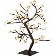 Drzewko świecące 45 cm, ciepła barwa