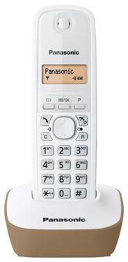 Telefon bezprzewodowy Panasonic KX-TG1611 beżowy