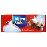 Alpen Gold Czekolada mleczna 90 g 5 sztuk