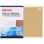 Sigma Tablica korkowa 30x40 cm