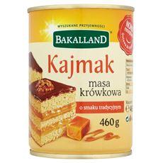 Bakalland Kajmak masa krówkowa o smaku tradycyjnym 460 g